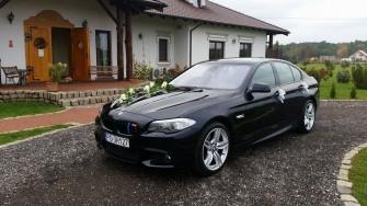 Piękne BMW F10 do ślubu Poznań