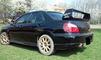 Rajdowym Subaru do ślubu Ełk