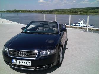 Cabrio audi a4 Auto do śłubu wesela Włocławek