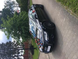 AUDI A7-samochód do ślubu trójmiasto Gdynia