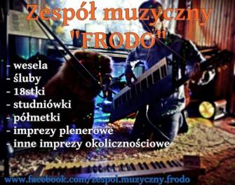 """Zespół muzyczny """"FRODO"""" - wesela Ostrołęka!"""