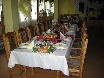 Stół weselny Lubin