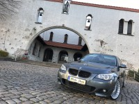 AUTO DO ŚLUBU BMW E60 535d BI TURBO - 400zł całość bez limitu czasu !  Rotmanka