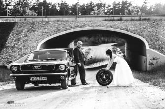 Ford mustang 1966- czarny hardtop- sam poprowadzisz ! Białystok
