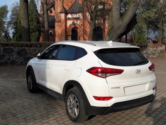Auto do slubu Hyundai Tucson Białystok