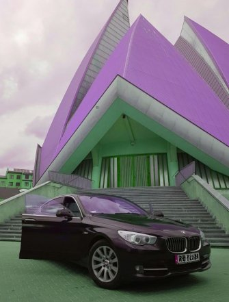 BMW serii 5 Gran Turismo Biała skóra  Radom