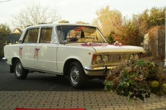 Fiat 125p 1975 r. - wynajem samochodu do �lubu - KLASYK  �aga�