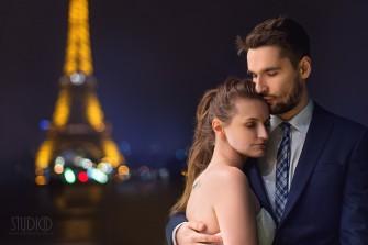 Plener ślubny w Paryżu. Żywiec