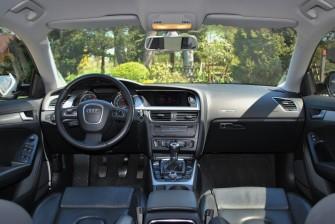 AUDI A5 sportback, ciemne szyby, skóra, stroboskop  Zgierz