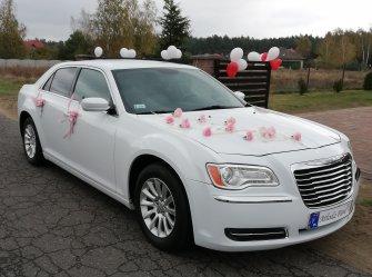 Chrysler 300c do ślubu Łask