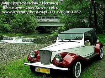 auto do ślubu Bielsko-Biała