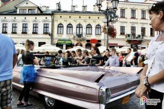 Różowy Cadillac Kabriolet - jedyny w Polsce !!! Jasło
