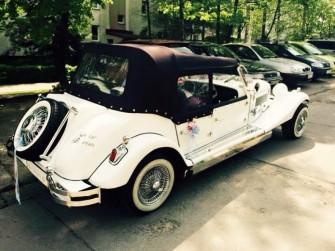 Luxusowe samochody do ślubu Auta zabytkowe Samochód RETRO Węgrów