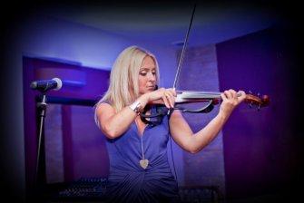 Olga - skrzypce elektryczne Krynica-Zdrój