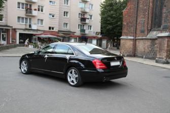 Samochód do Ślubu Auto na Wesele Mercedes S Klasa Wersja Long Słupsk