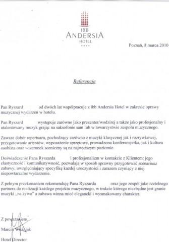 referencje Poznań