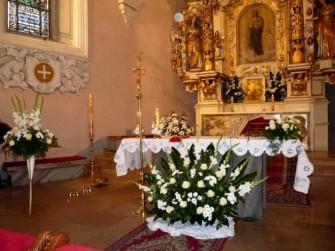 kwiaty na ołtarz Toruń