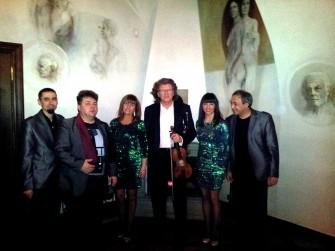 Wspólne koncertowanie z Super Człowiekiem Panem Zbyszkiem Wodeckim Kraków