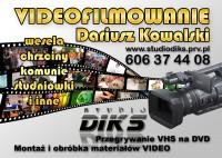 Wideofilmowanie i fotografia Studio Diks Turek