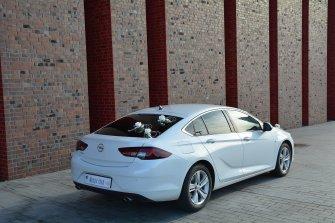 Auto do ślubu, wesele   Opel Insignia 2019 biała perła   Dąbrowa Górnicza