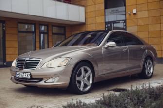 Przejazd do ślubu (i nie tylko) Mercedes-Benz S500 Rzeszów