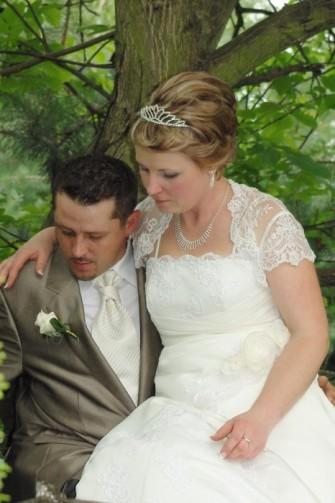 urok fryzurki ślubnej na krótkich włoskach Bachórz