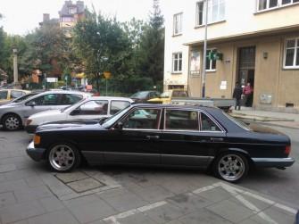Mercedes w126 300SDL USA Kraków/Olkusz