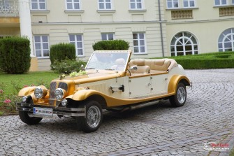 Auto do ślubu 899zł za cały dzień. Dekoracja GRATIS! Kraków