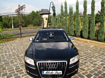Audi S8 wesela Katowice