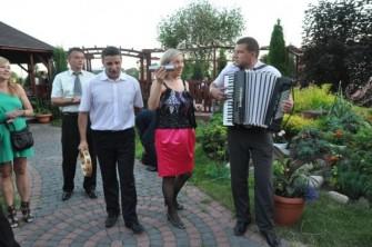 Z gośćmi w plenerze:) Radzyń Podlaski