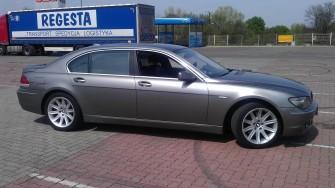 BMW 745Li idealne auto do ślubu Wieliczka