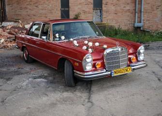 Zabytkowy Mercedes W109, wspaniała limuzyna z lat 70. wrocław