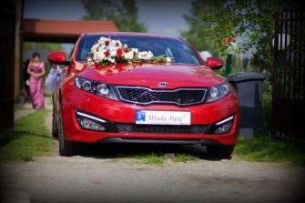 Samochód do ślubu - KIA Optima Łódź