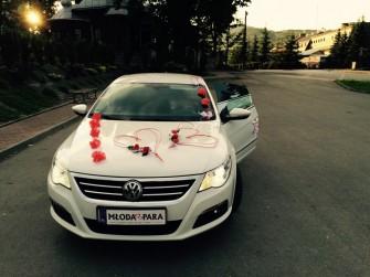 Auto do Ślubu Wynajem VW Passat CC R-line Tarnów