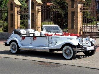 Luksusowe samochody do ślubu Zabytkowe auta na ślub Kabriolet RETRO Płońsk