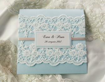 Zaproszenie Palace Blue Wiązowna