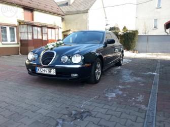 Piękny Jaguar S-Type Chrzanów