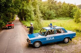 Fiat 125p MILICJA Zamość