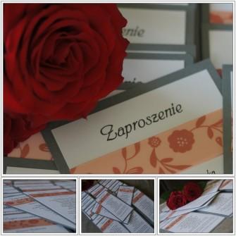 Zaproszenie ślubne Toruń