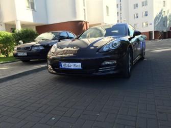 Porsche Panamera do ślubu Białystok Warszawa Lublin