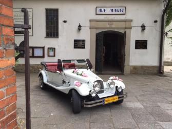 Samochody RETRO do ślubu Kraków