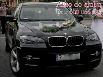 BMW X6 do ślubu Stalowa Wola, Mielec, Sandomierz, Tarnobrzeg