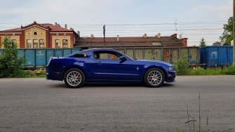Mustangiem do ślubu! 2014 Ford Mustang  Lubań