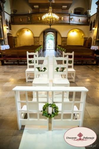 Dekoracja kościoła Ogrodzieniec