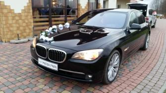 BMW 750i F01 V8 408KM DO ŚLUBU Białystok
