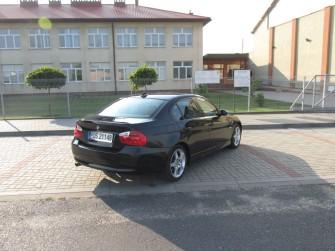 Czarna Limuzyna BMW E90 TANIO Ostrów Wielkopolski