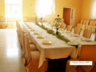 Pod Sosną kompleks gastronomiczny Lewin Brzeski