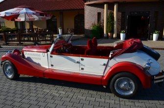 Auto retro do ślubu Wieliczka