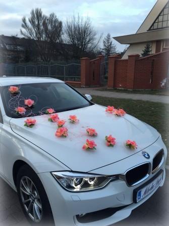 *BIAŁE* NOWE BMW 3 ŚLUB czerwony dywan 130 zł Będzin