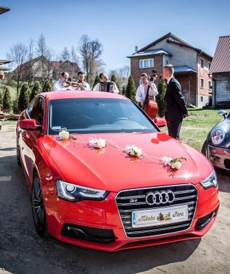 Piękne AUDI A5 sportback S-Line do ślubu!Nowy Sącz/Nowy Targ